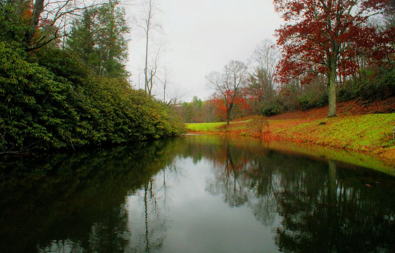 10_09 thumb rakes pond and reflections