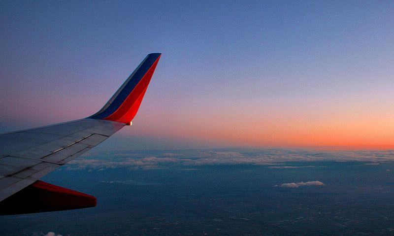 12_09 thumb flight into sunrise