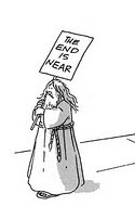 End is near cartoon